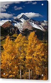 Mountainous Wonders Acrylic Print by Darren  White
