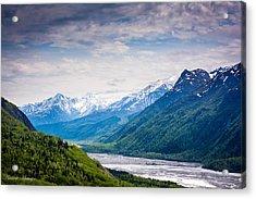 Mountains Along Seward Highway Acrylic Print