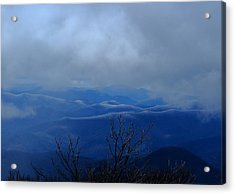 Mountains And Ice Acrylic Print