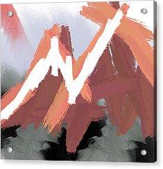 Mountains Acrylic Print by Condor