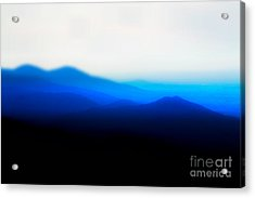 Mountains In The Mist Acrylic Print