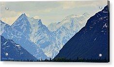 Mountains Near Matanuska Glacier Acrylic Print