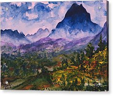 Mountains Of Pyrenees  Acrylic Print