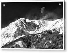 Mountains Of The Moon Acrylic Print by Adele Buttolph