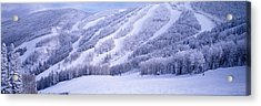 Mountains, Snow, Steamboat Springs Acrylic Print by Panoramic Images