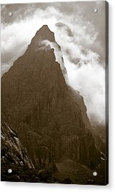 Mountainscape Acrylic Print by Frank Tschakert