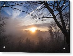 Mountaintop Sunrise Acrylic Print