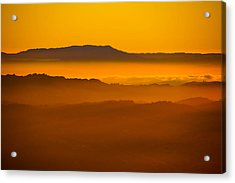 Mountaintop Sunset Acrylic Print