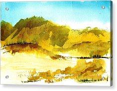 Mountan Desert Acrylic Print