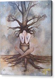 Mourning Nature Acrylic Print by Estela Gama