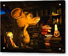 Mouse In The Attic Acrylic Print by Bob Orsillo