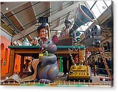 Mouse Jam Acrylic Print by Cheryl Cencich