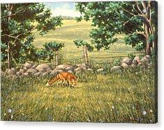 Mouse Patrol Acrylic Print by Richard De Wolfe