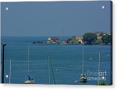 Mouth Of The Niagara River Acrylic Print