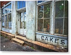 Movie ''hunger Games'' Bakery Acrylic Print by Marion Johnson