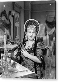Movie Star Mae West Acrylic Print by Underwood Archives