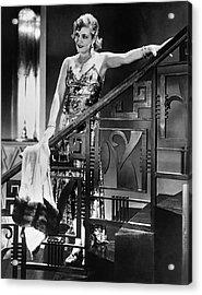 Movie Star Olga Baclanova Acrylic Print by Underwood Archives