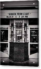Movie Theater Acrylic Print by Rudy Umans