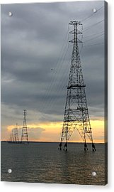 Moving Power Acrylic Print by Mike McGlothlen