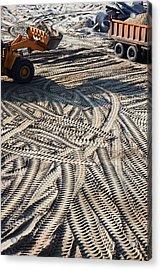 Moving Sand Acrylic Print