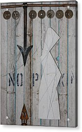 Moving Target  C2011 Acrylic Print