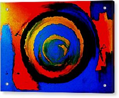 Moving Towards The Light Acrylic Print by Lisa Kaiser