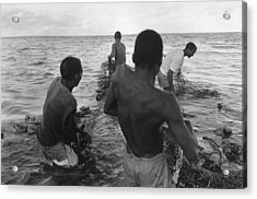 Mozambique 1997 Acrylic Print by Rolf Ashby