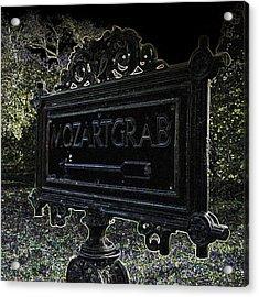 #mozart #grab #stmarx #wien Acrylic Print