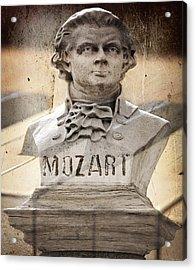 Mozart Acrylic Print by Steven Michael
