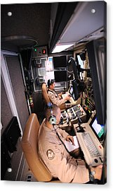 Mq-9 Reaper Ground Control Station Acrylic Print