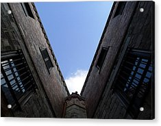 Mr Blue Sky Acrylic Print by Richard Reeve