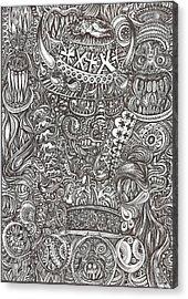 Mr Chameleon Acrylic Print