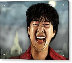 Mr. Chow Hangover Part 2 Acrylic Print by Mathieu Lalonde