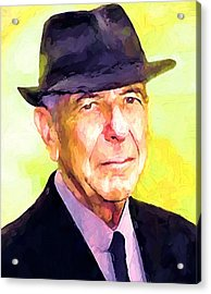 Mr. Cohen Acrylic Print