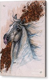 mr Fabulous 2014 11 03 Acrylic Print by Angel  Tarantella