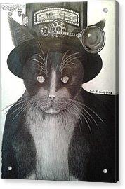 The Wizard Of Fuzz Acrylic Print