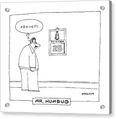 'mr. Humbug' Acrylic Print by Mick Stevens