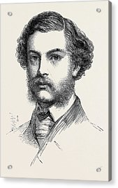 Mr. Jopling Winner Of The Queens Prize The National Rifle Acrylic Print