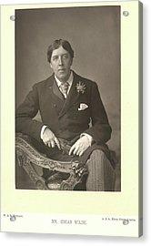 Mr Oscar Wilde Acrylic Print by British Library
