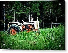 Mr. Pickett's Tractor Acrylic Print