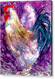 Mr. Rooster  Acrylic Print