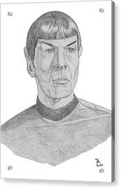 Mr. Spock Acrylic Print