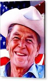 Mr.president 2 Acrylic Print by Steve K