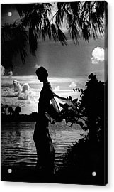 Mrs Allan A Ryan Jr At Palm Beach Acrylic Print