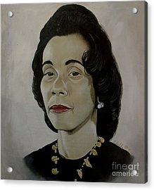 Mrs. Coretta Scott King Acrylic Print