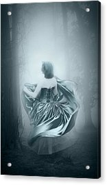 Mrs G Acrylic Print by Svetlana Sewell