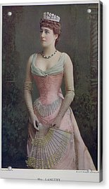 Mrs. Langtry Acrylic Print by British Library