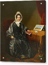 Mrs Louisa Brown Acrylic Print by British Library