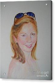 Mrs Orrell Acrylic Print