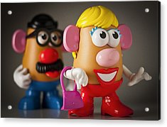 Mrs. Potato Head Acrylic Print